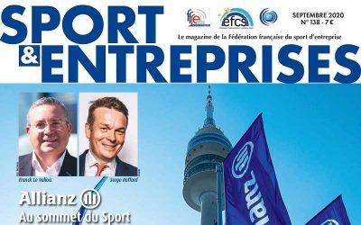 Magazine Sport et Entreprise N°138
